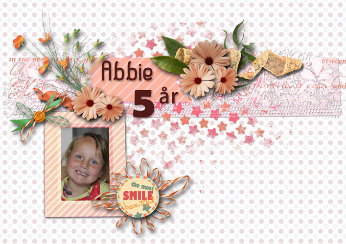 Abbie 5 år