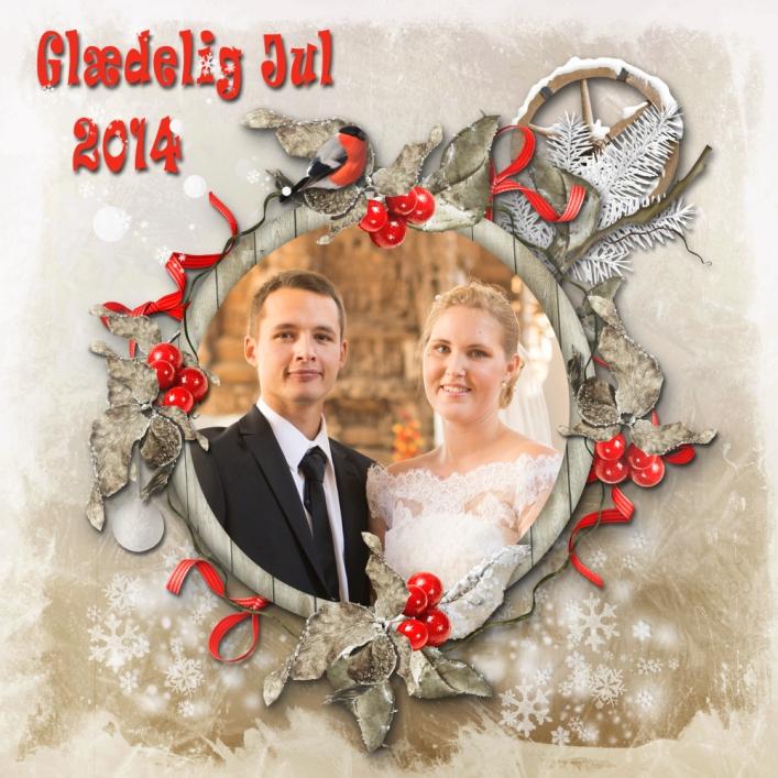 Marc og Katrine Julen 2014