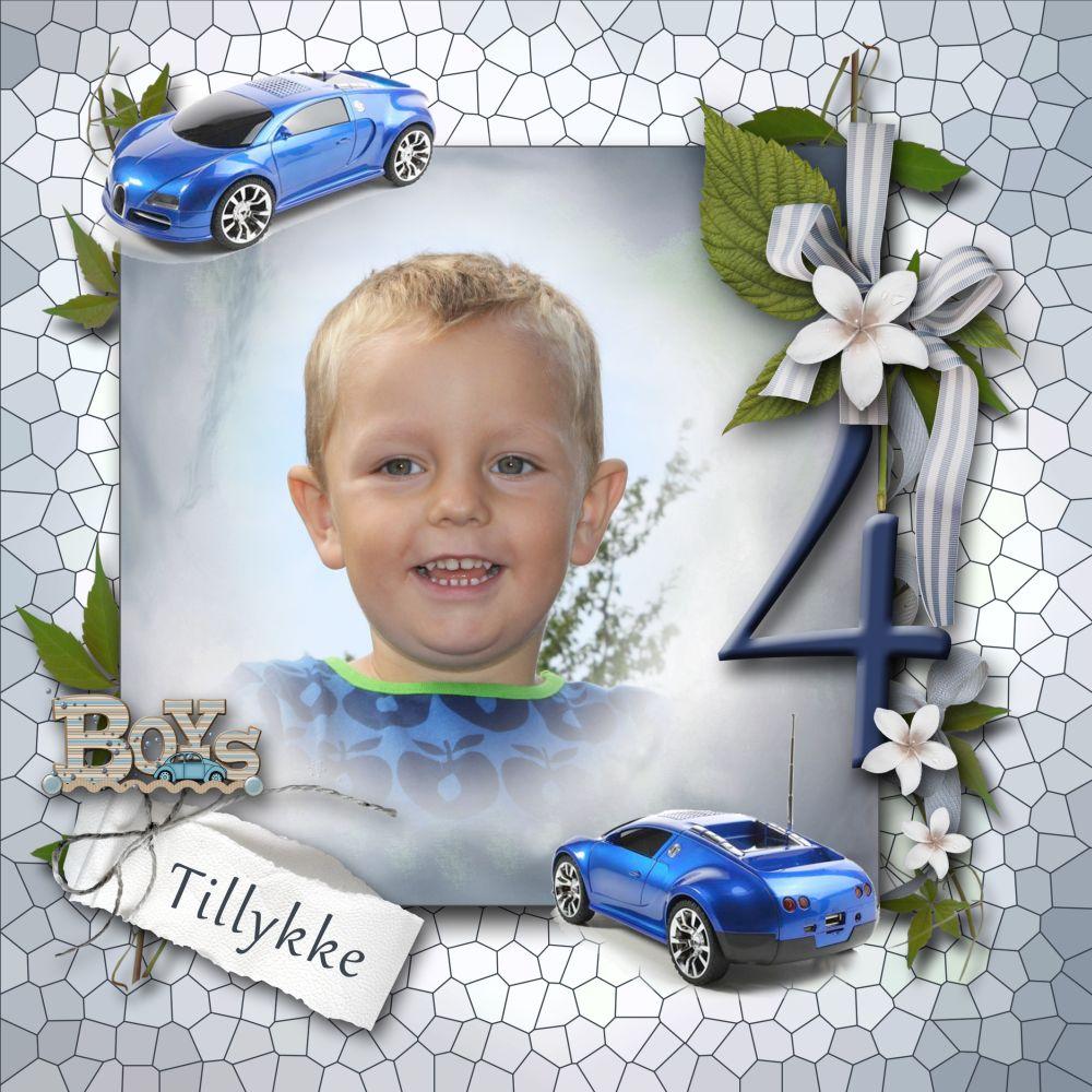 Jamie Rigelsen 4 år