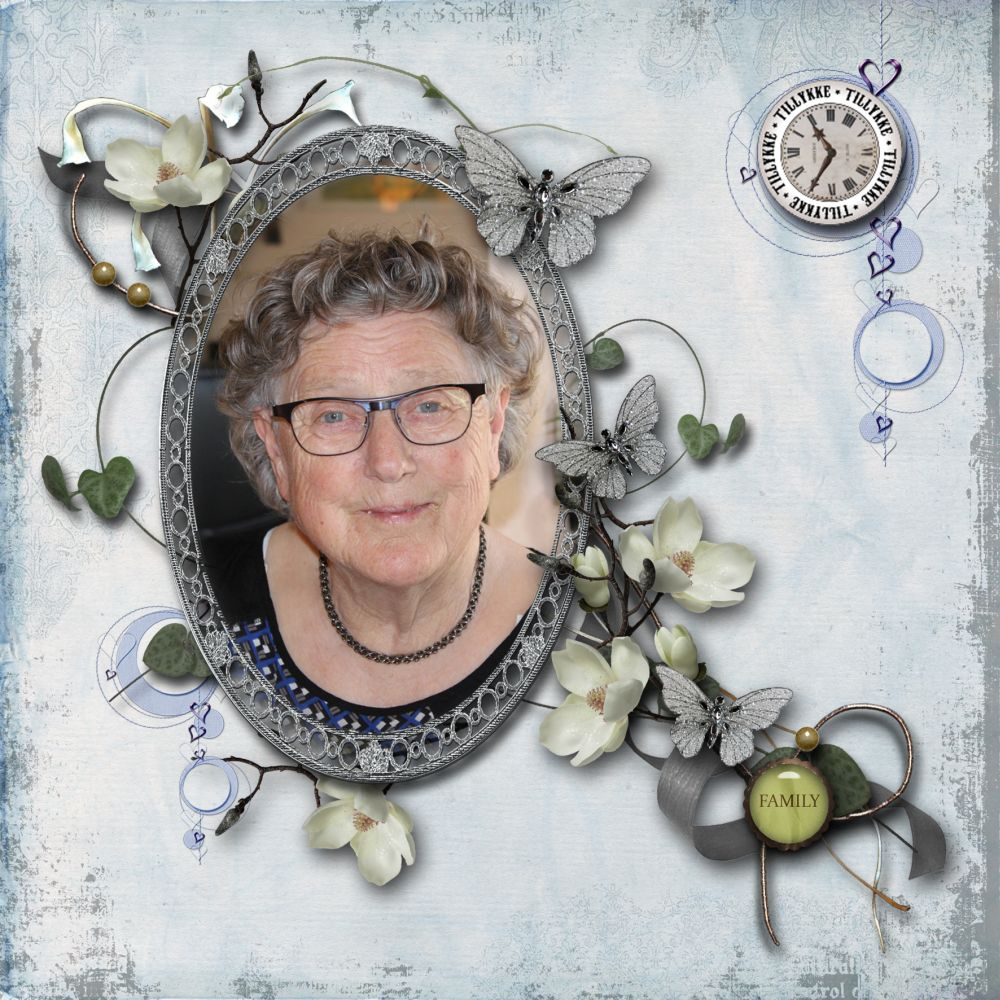 Min mor - Hanne Rigelsen 84 aar