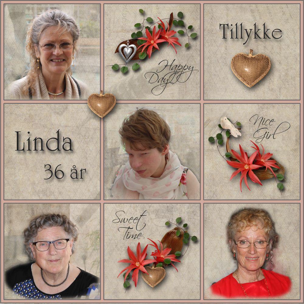 Linda Rigelsen 36 år