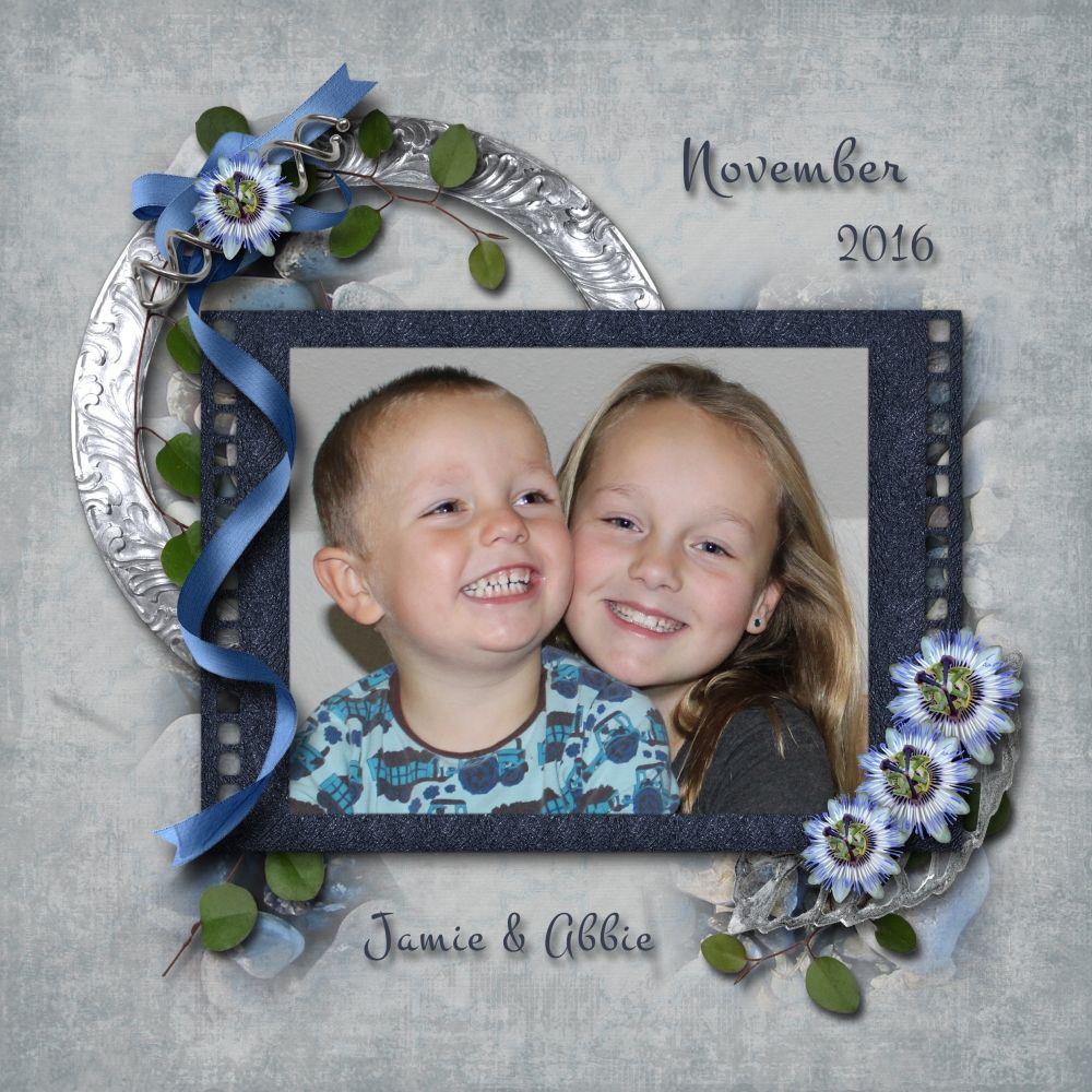 Jamie og Abbie November 2016