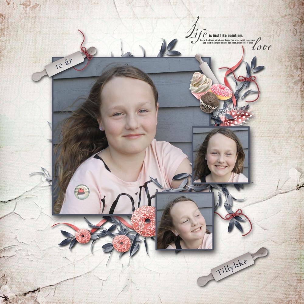 Abbie Toft Rigelsen 10 år